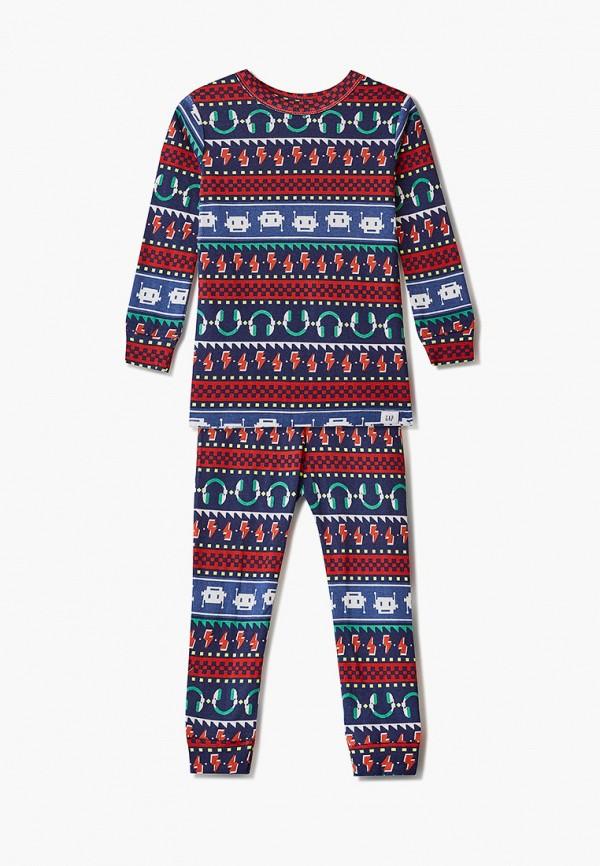 пижама gap для мальчика, синяя