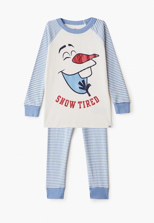 пижама gap для мальчика, голубая