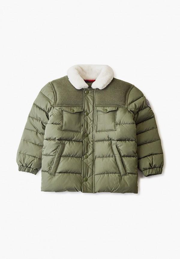 куртка gap для мальчика, зеленая