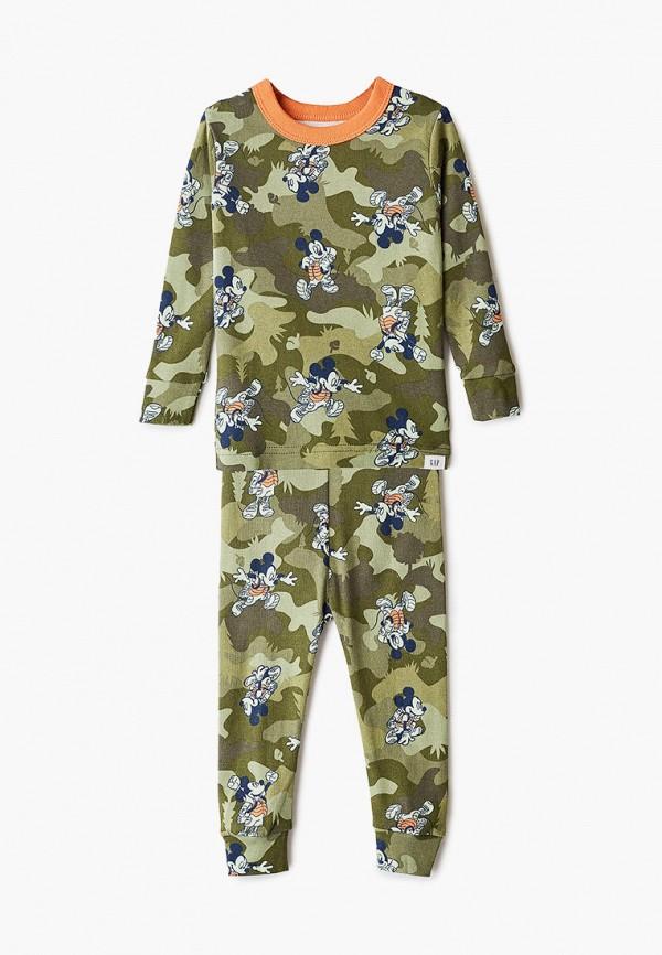 пижама gap для мальчика, хаки