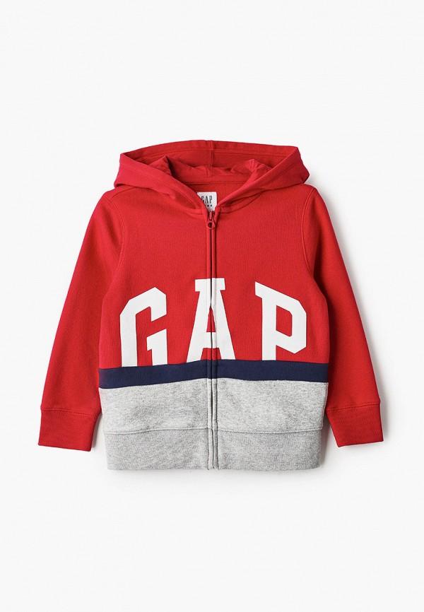 толстовка gap для мальчика, красная