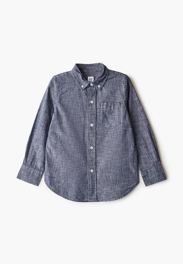 джинсовые рубашка gap для мальчика, синяя