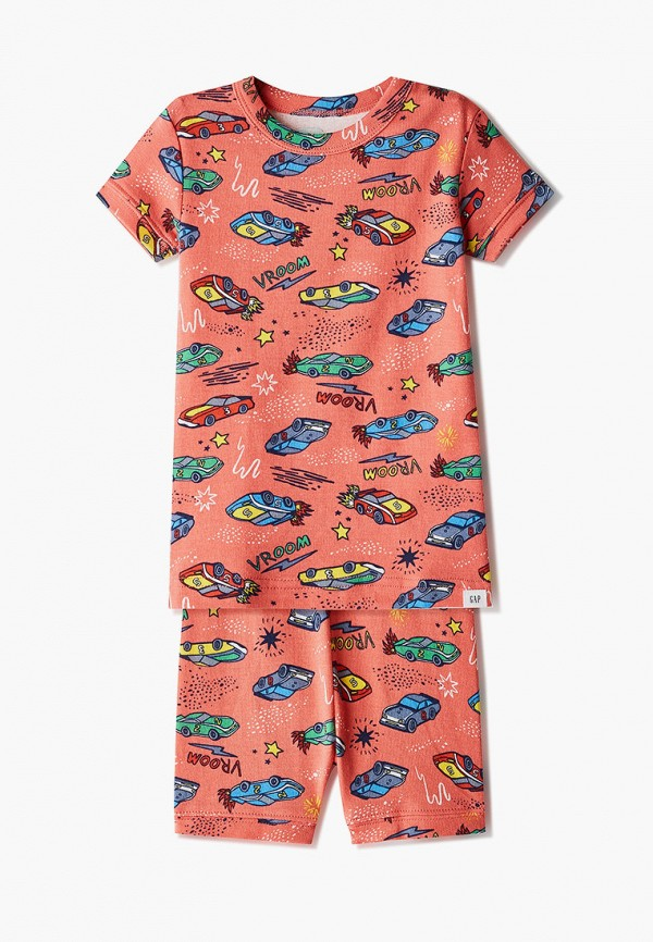 пижама gap для мальчика, красная