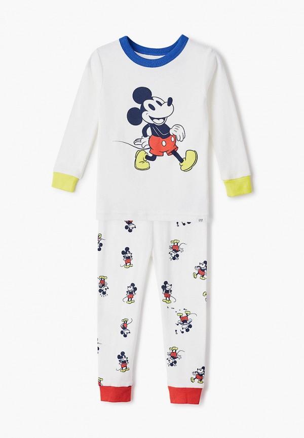 пижама gap для мальчика, бежевая