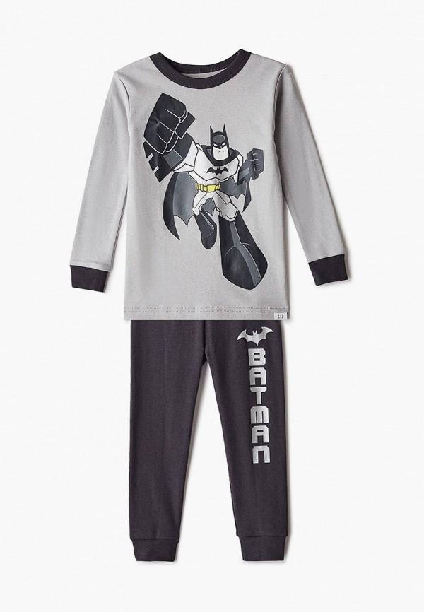 пижама gap для мальчика, разноцветная