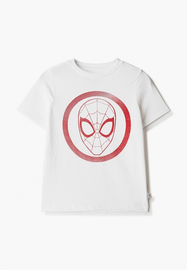 футболка с коротким рукавом gap для мальчика, белая