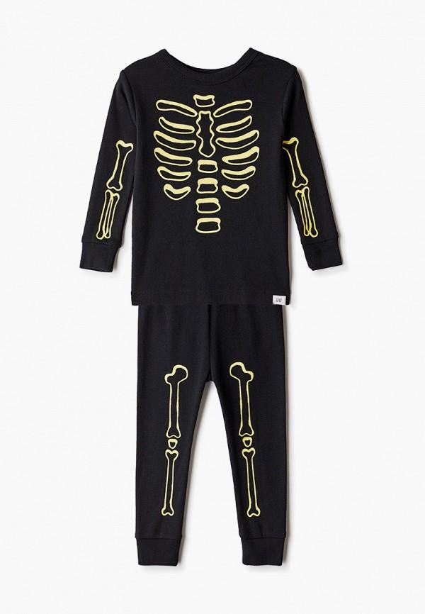 пижама gap для мальчика, черная