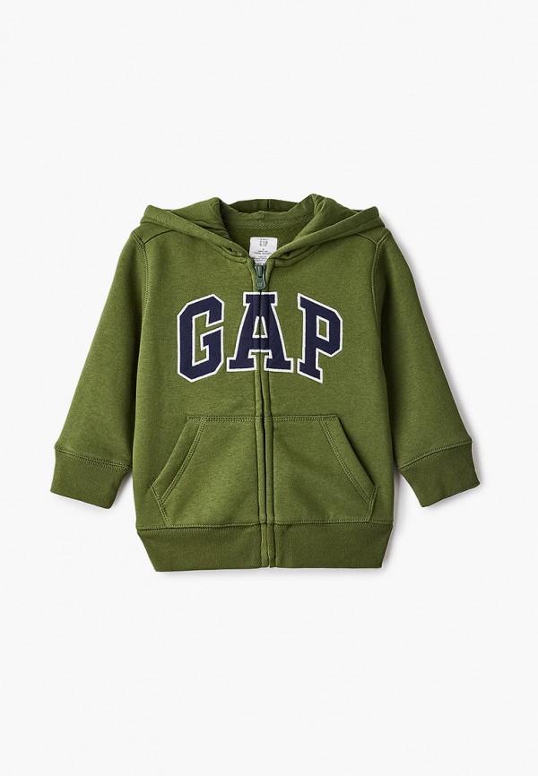 толстовка gap для мальчика, зеленая