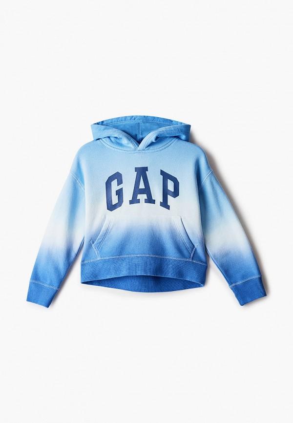 худи gap для мальчика, голубые
