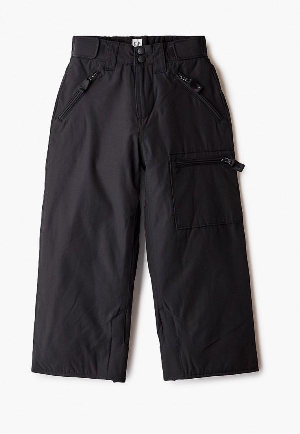 утепленные брюки gap для мальчика, черные