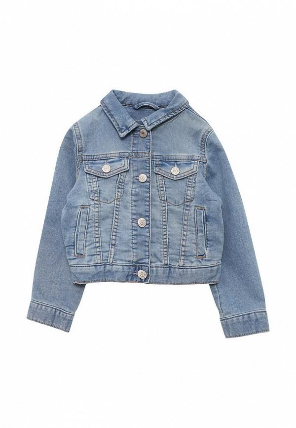 Куртка джинсовая Gap, GA020EGAHDC2, голубой, Весна-лето 2018  - купить со скидкой