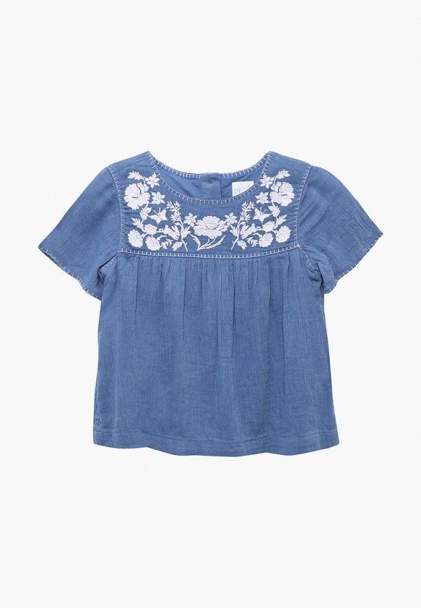 Купить Блуза Gap, GA020EGAHPW5, синий, Весна-лето 2018