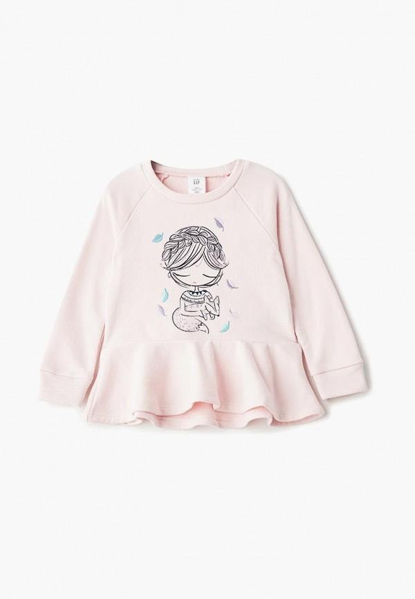 Свитшот Gap, ga020egbtqh1, розовый, Осень-зима 2018/2019  - купить со скидкой