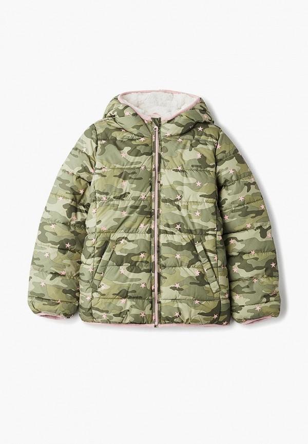 куртка gap для девочки, хаки