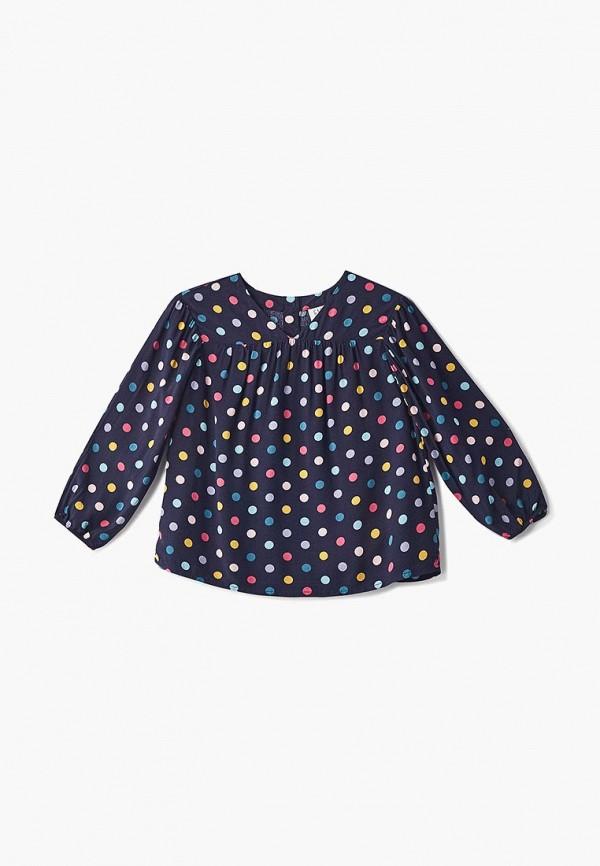 блузка gap для девочки, синяя