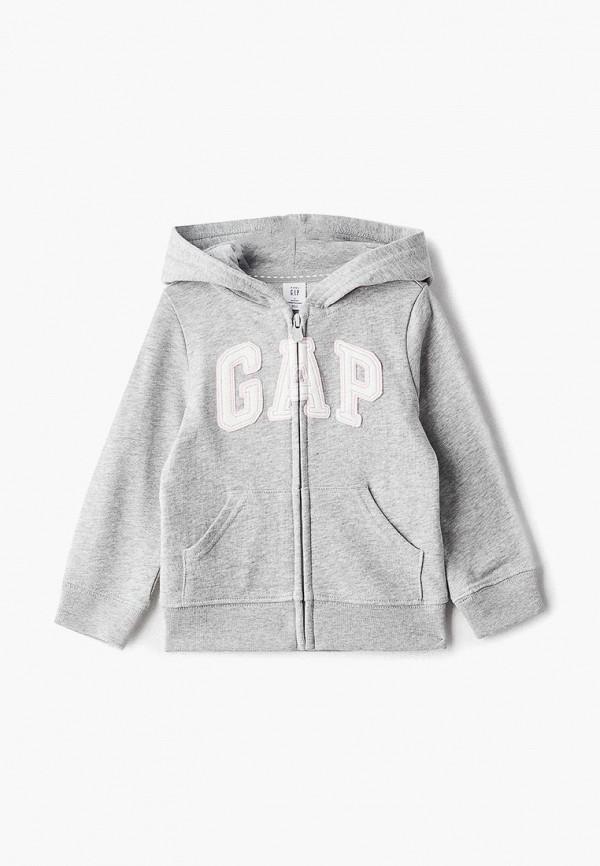 толстовка gap для девочки, серая