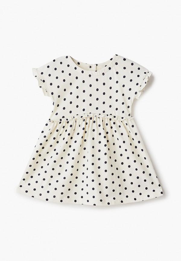 повседневные платье gap для девочки, бежевое