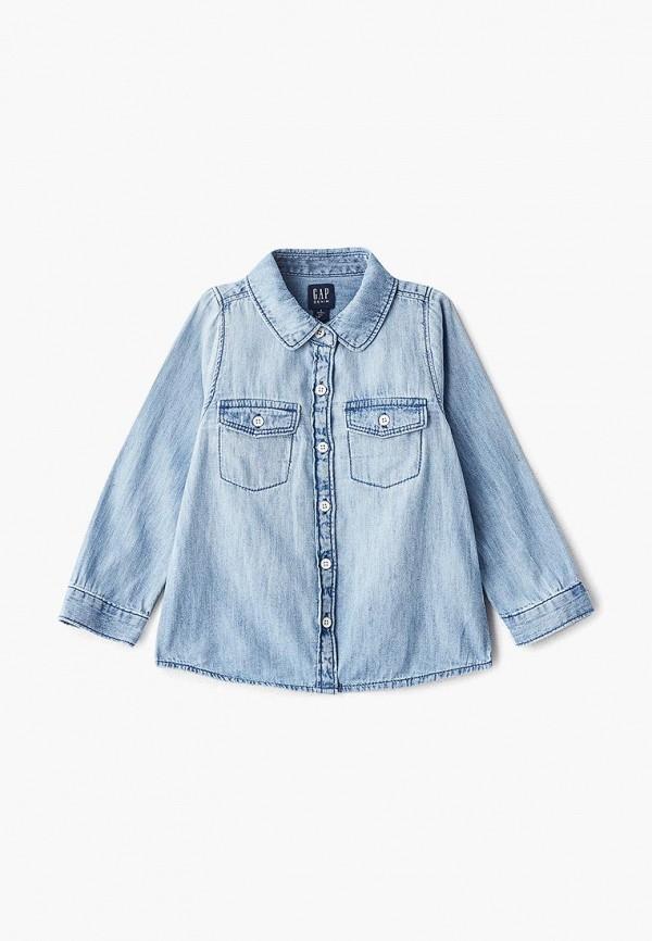 Рубашка джинсовая Gap Gap GA020EGEGKU9 рубашка gap gap ga020embclz6