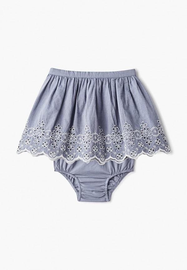 юбка gap для девочки, серая