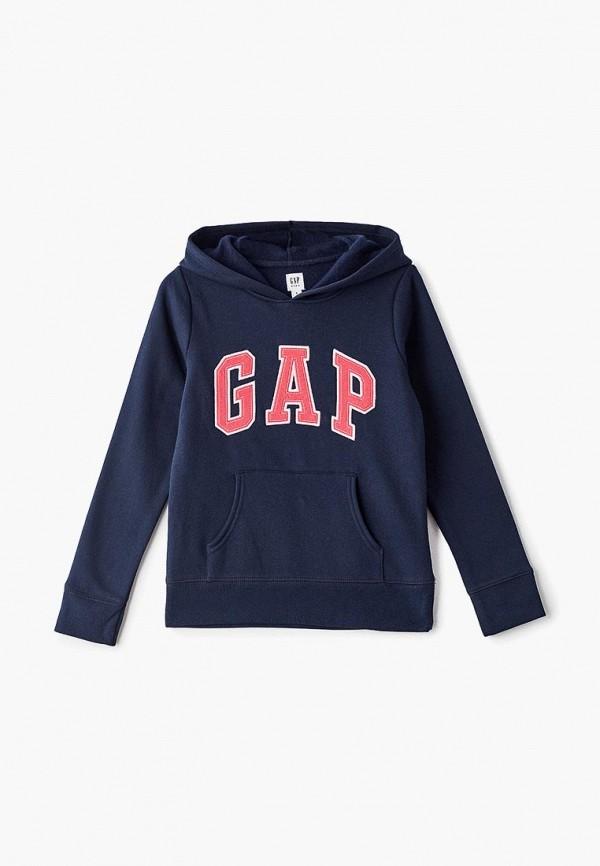 худи gap для девочки, синие