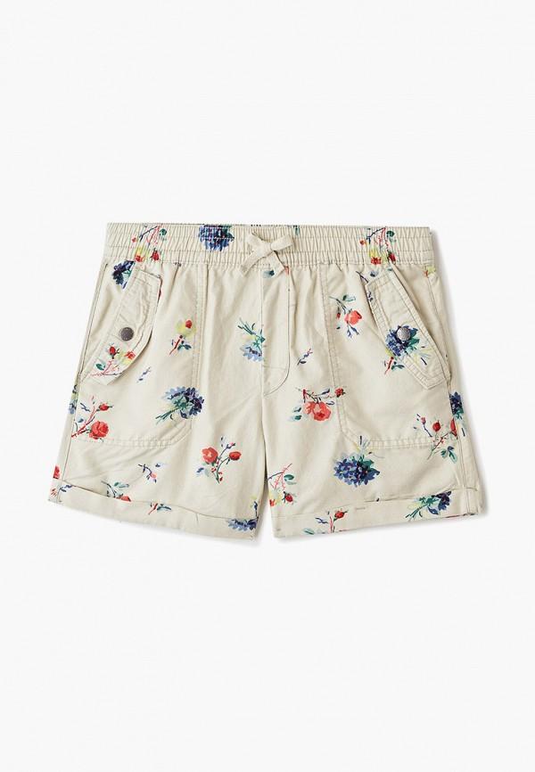 шорты gap для девочки, бежевые