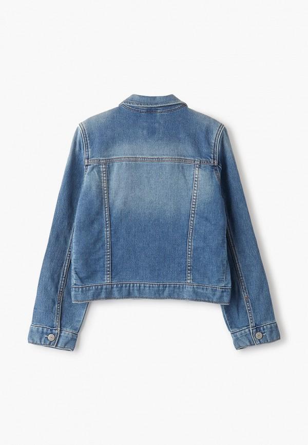 Куртка для девочки джинсовая Gap 353960 Фото 2