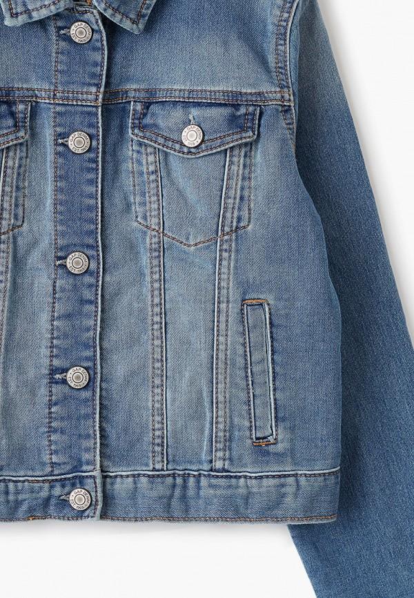 Куртка для девочки джинсовая Gap 353960 Фото 3
