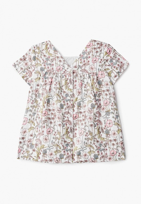 блузка gap для девочки, белая