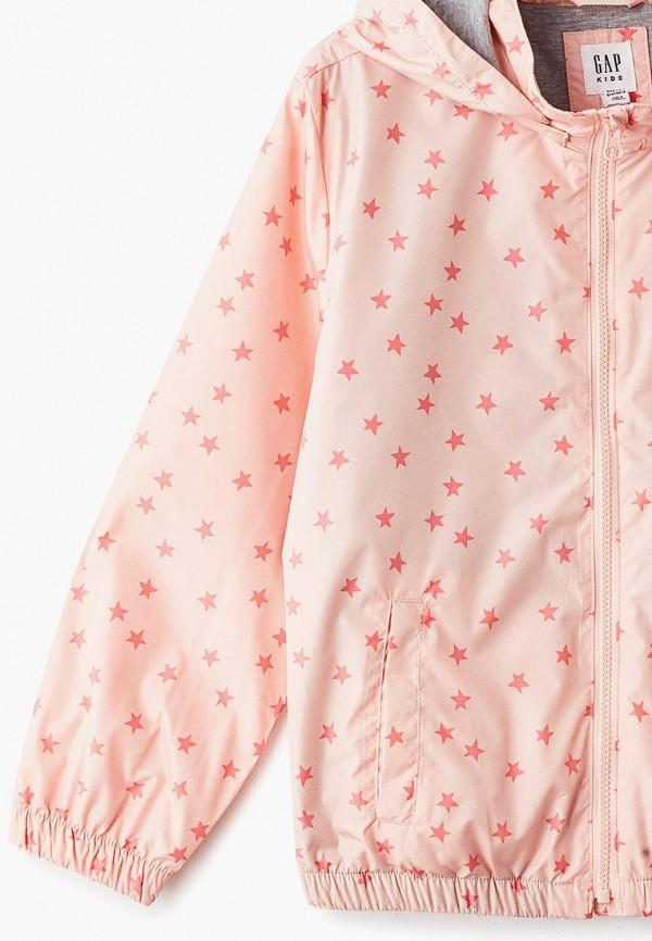 Фото 3 - женскую ветровку Gap розового цвета