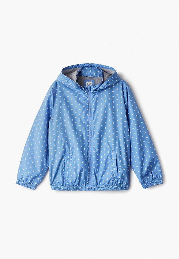 куртка gap для девочки, голубая