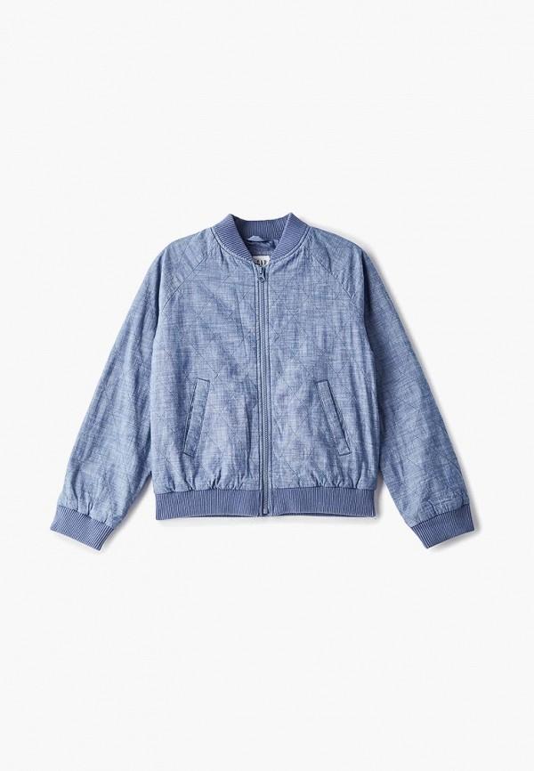 куртка gap для девочки, синяя