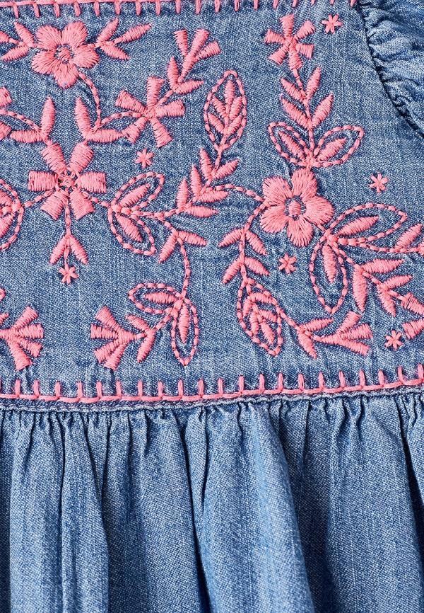 Фото 3 - футболку или топ для девочки Gap синего цвета