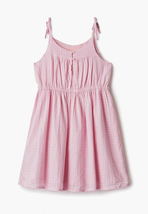 Фото 2 - платье или сарафан для девочки Gap розового цвета