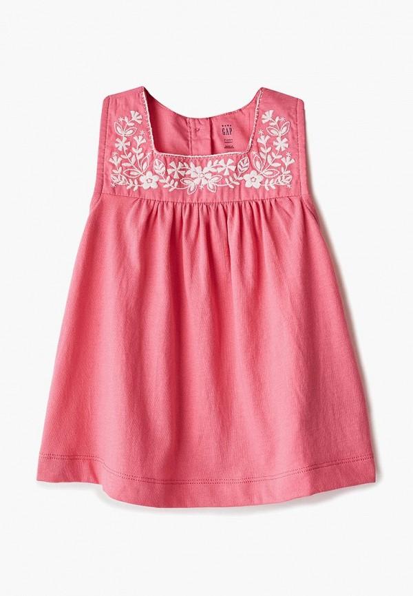топ gap для девочки, розовый