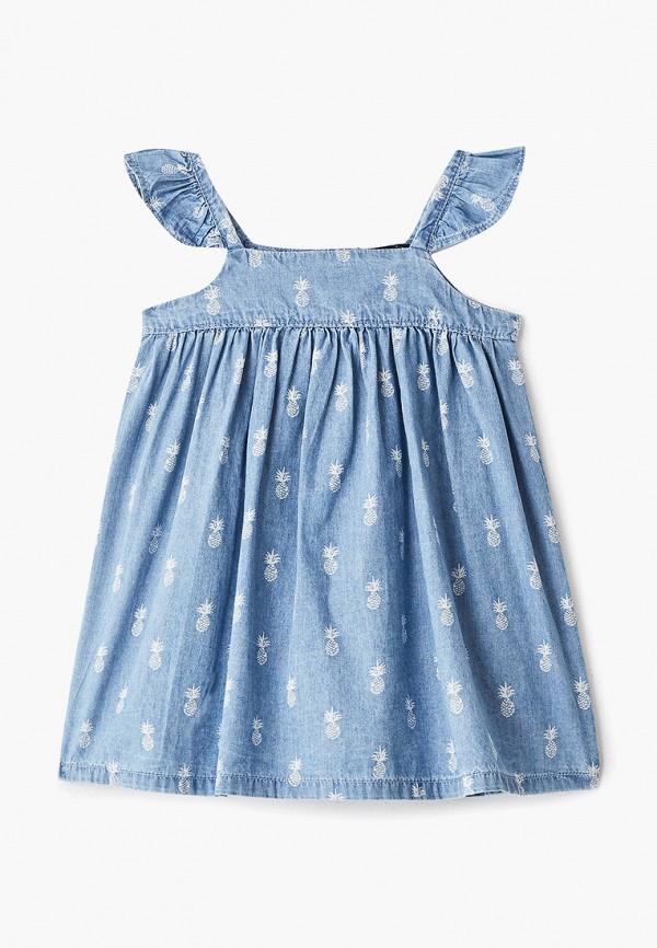Фото - Платье Gap голубого цвета