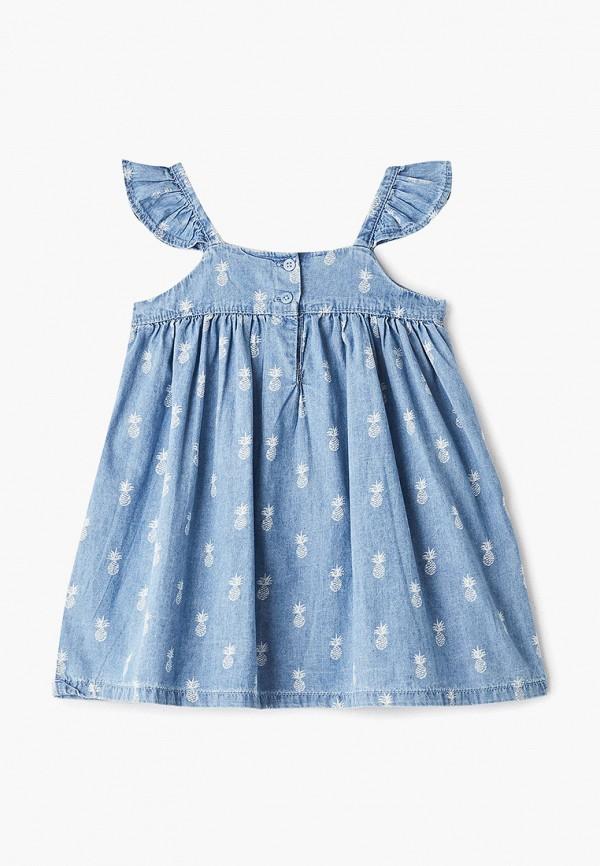 Фото 2 - Платье Gap голубого цвета