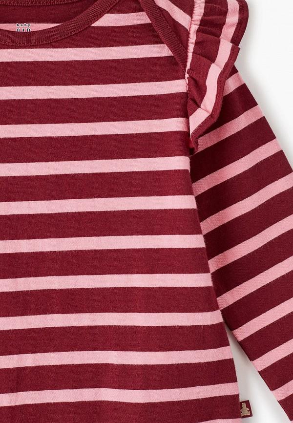 Фото 3 - Боди Gap бордового цвета