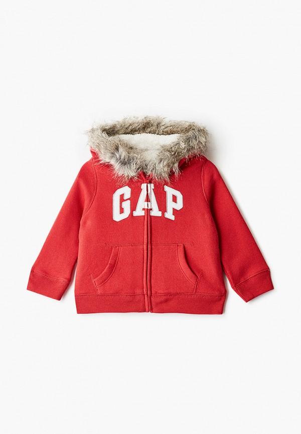 толстовка gap для девочки, красная