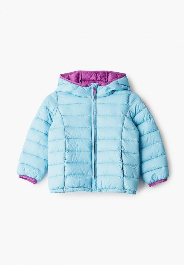 куртка gap для девочки, бирюзовая