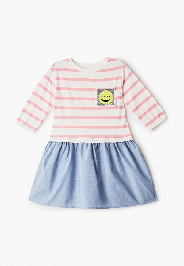 повседневные платье gap для девочки, разноцветное