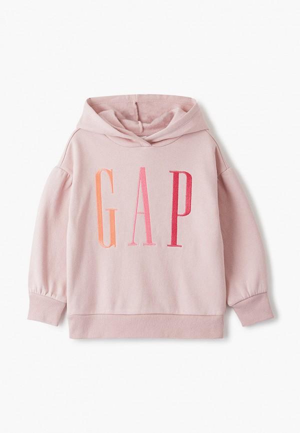 худи gap для девочки, розовые