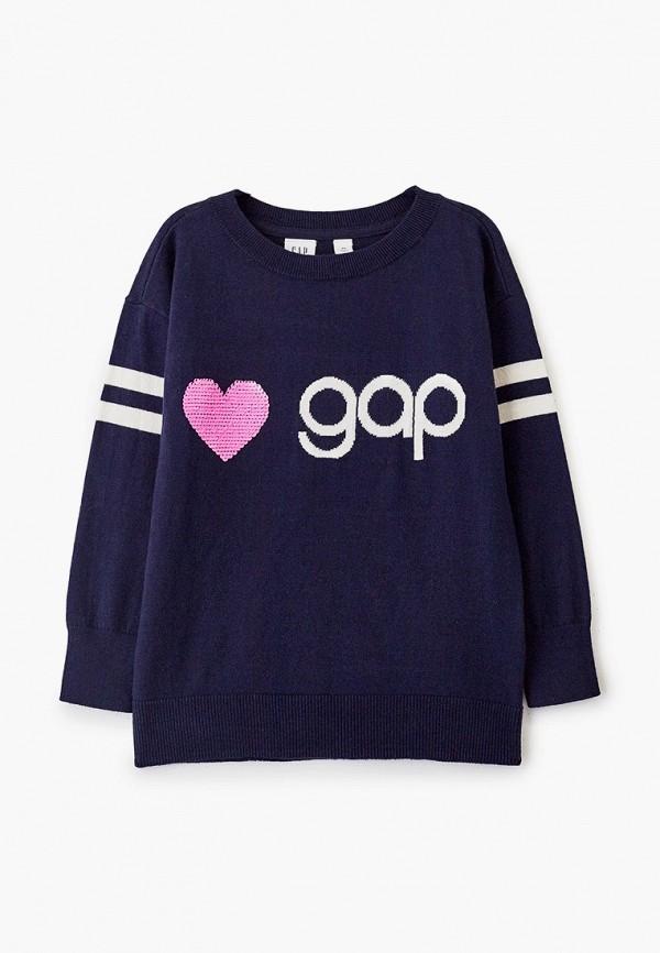 джемпер gap для девочки, синий