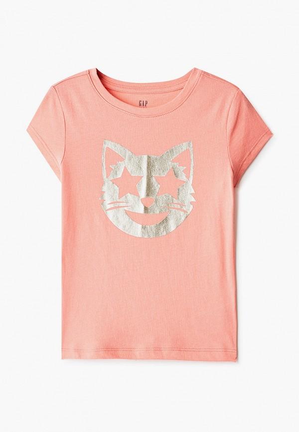 футболка с коротким рукавом gap для девочки
