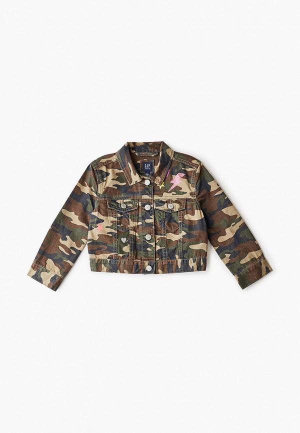 Куртка джинсовая Gap Gap GA020EGGPNI1 куртка джинсовая gap gap ga020emefzk0
