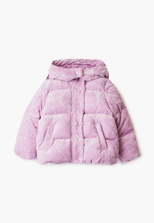 куртка gap для девочки, фиолетовая