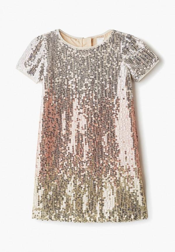 платье gap для девочки, золотое