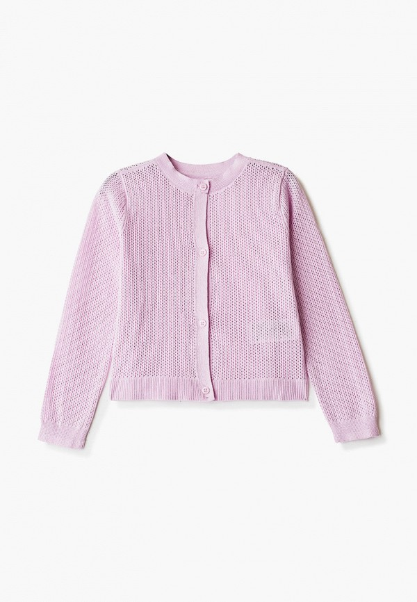 кардиган gap для девочки, фиолетовый