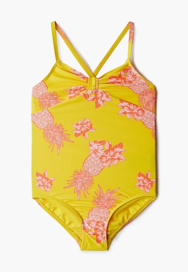 купальник gap для девочки, желтый