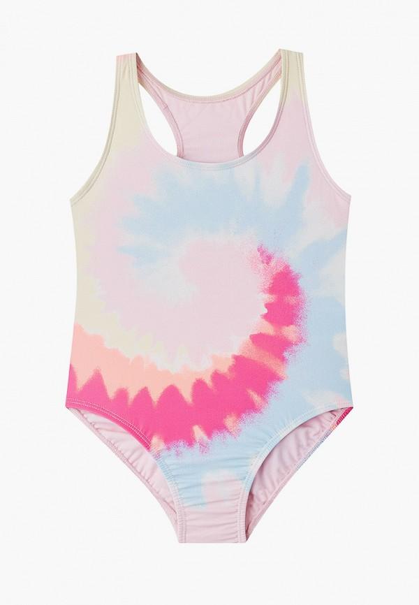 купальник gap для девочки, разноцветный