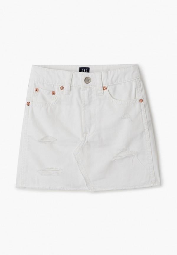 юбка gap для девочки, белая